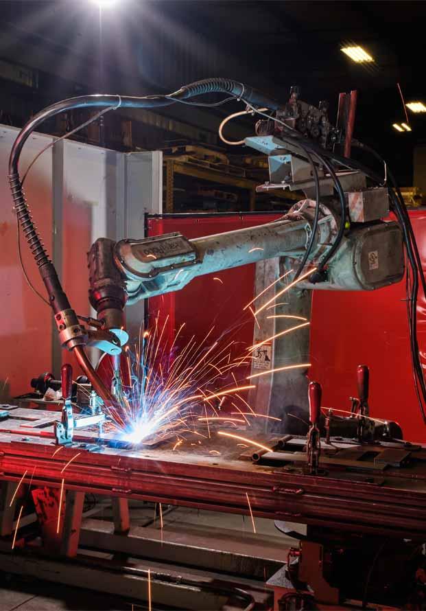 laser cutting robot