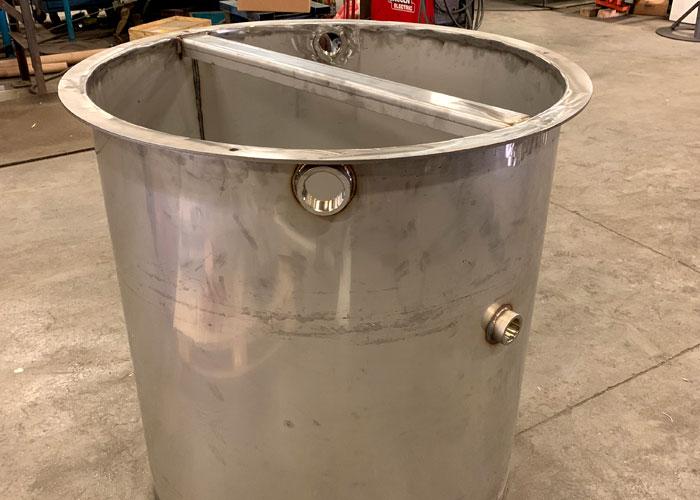 steel tank assembly